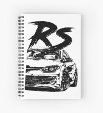 Megane RS FL & quot; Dirty Style & quot; Spiral Notebook