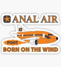 Fly ANAL AIR to Quahog International Airport. Sticker