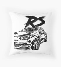 Megane RS VFL & quot; Dirty Style & quot; Throw Pillow