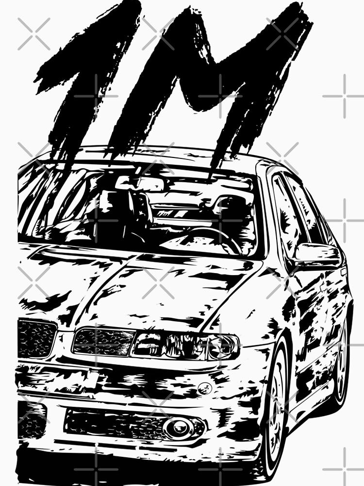 Race Car Bmw E34 M5