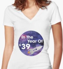 In The Year of '39 ~ Galaxy Edition  Women's Fitted V-Neck T-Shirt