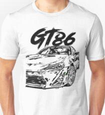 GT86 & quot; Dirty Style & quot; Unisex T-Shirt