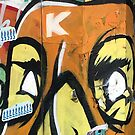 Southbank Skatepark Graffiti #5 by Tracey Hudd