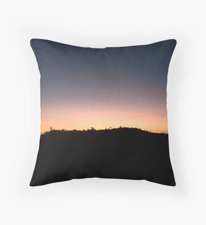 Kenya sunrise Throw Pillow