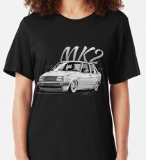 Jetta MK2 & quot; Low Style & quot; Slim Fit T-Shirt