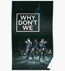 why dont we series Poster