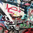 Southbank Skatepark Graffiti #6 by Tracey Hudd
