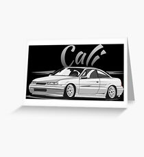 Calibra & quot; Low Style & quot; Greeting Card