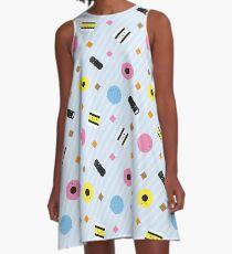 Kawaii Candy Liquorice Allsorts A-Line Dress