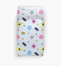 Kawaii Candy Liquorice Allsorts Duvet Cover