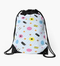 Kawaii Candy Liquorice Allsorts Drawstring Bag