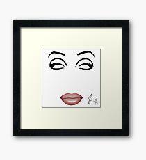 Chad Michaels - Minimalist Queens Framed Print