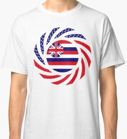 Hawaiian Murican Patriot Flag Series Classic T-Shirt