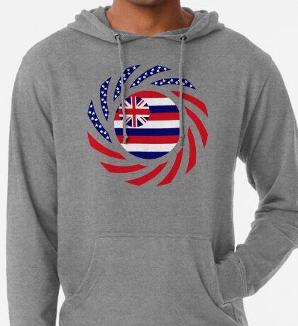 Hawaiian Murican Patriot Flag Series Lightweight Hoodie