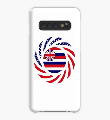 Hawaiian Murican Patriot Flag Series Case/Skin for Samsung Galaxy