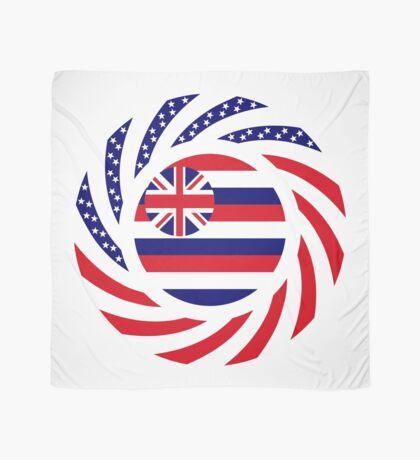 Hawaiian Murican Patriot Flag Series Scarf