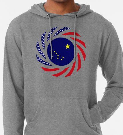 Alaskan Murican Patriot Flag Series Lightweight Hoodie