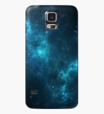 Deep Space Galaxy Blue iPhone & Samsung Phone Case Case/Skin for Samsung Galaxy