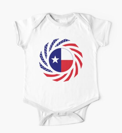 Texan Murican Patriot Flag Series Kids Clothes