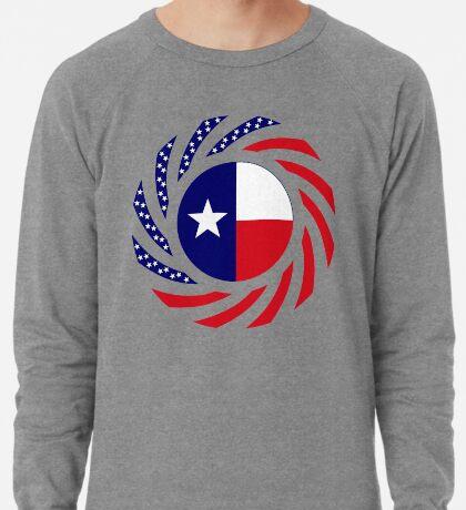 Texan Murican Patriot Flag Series Lightweight Sweatshirt