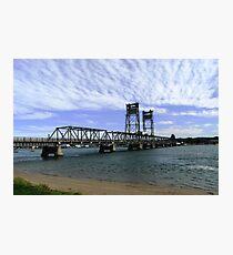 Clyde River Bridge, Batemans Bay. Photographic Print