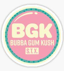 Bubba Gum Kush 1 Sticker