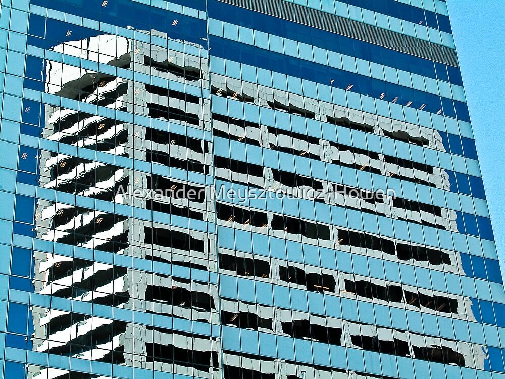 Materialising building by Alexander Meysztowicz-Howen