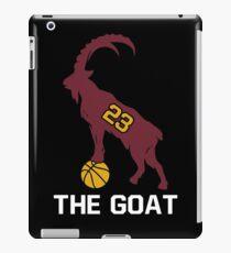 LeBron James Shirt | LeBron Goat | King James Crown Tshirt | Cleveland The Goat 23 | LBJ Shirt LeBron GOAT iPad Case/Skin