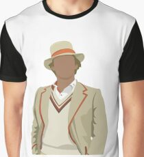 5th Doctor  Graphic T-Shirt