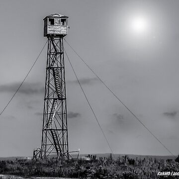 Fire Lookout Tower in Northern Maine by kenmo