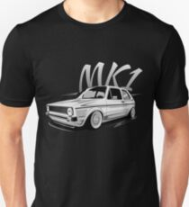Golf 1 MK1 GTI & quot; Low Style & quot; Unisex T-Shirt