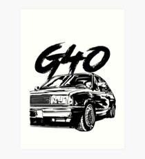 "Polo G40 ""Dirty Style"" Art Print"