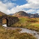 Glen Coe. Old Military Road Bridge. Autumn. Highland Scotland. by PhotosEcosse