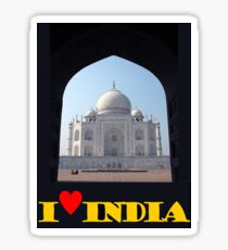 I love India Sticker