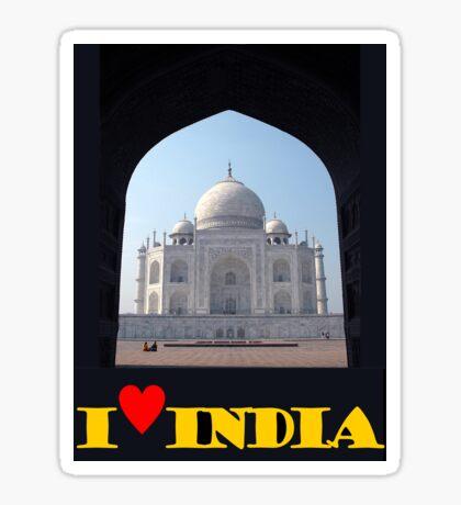 I love India Sticker