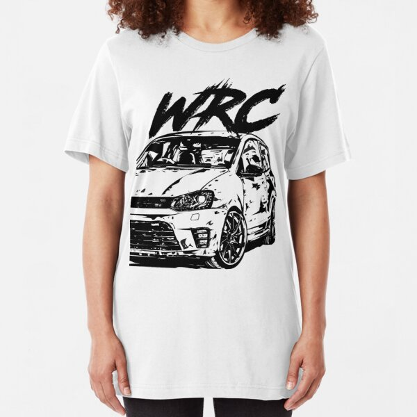 Polo 6R WRC & quot; Dirty Style & quot; Slim Fit T-Shirt