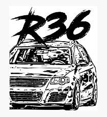 "Passat B6 R36 ""Dirty Style"" Photographic Print"