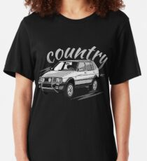 Golf 2 Country MK2 & quot; Low Style & quot; Slim Fit T-Shirt