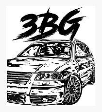 Passat B5 3BG & quot; Dirty Style & quot; Photographic Print