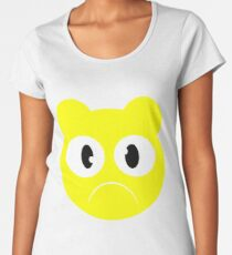 SAD FACE - Emotion Series Women's Premium T-Shirt