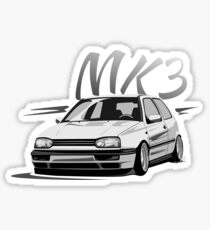 Golf 3 GTI MK3 & quot; Low Style & quot; Sticker
