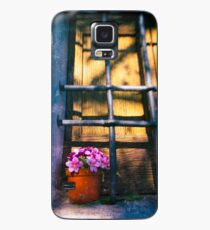 Vase with fake flowers Case/Skin for Samsung Galaxy