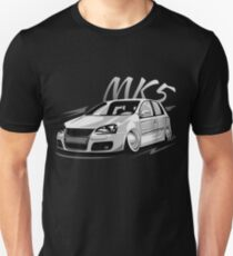 Golf 5 GTI MK5 R32 & quot; Low Style & quot; Slim Fit T-Shirt