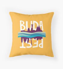Budapest II. Throw Pillow