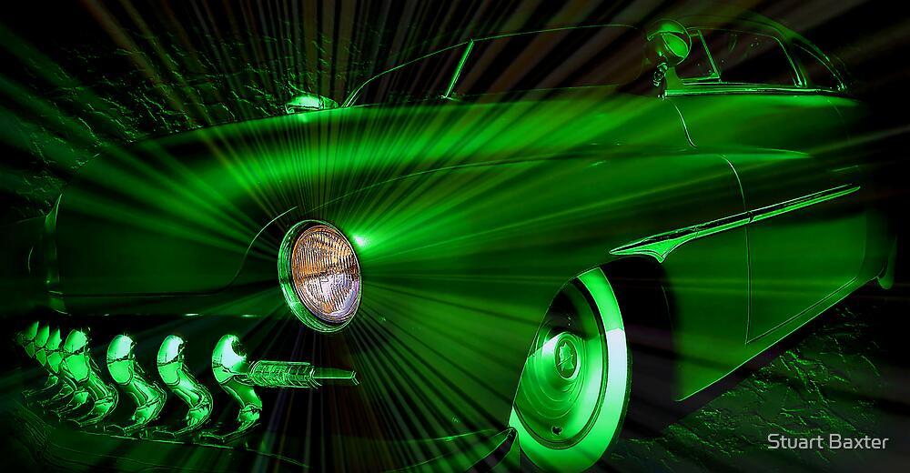 The Green Lantern  by Stuart Baxter