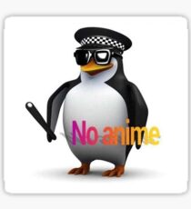 NO ANIME X Sticker