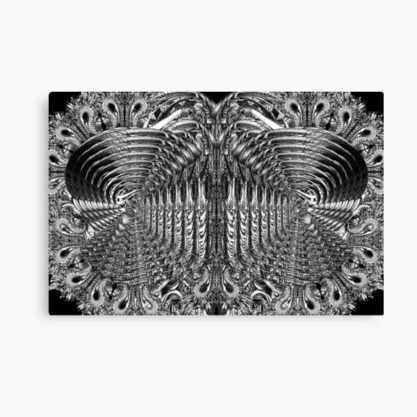 Inside The Maturation Chamber Canvas Print
