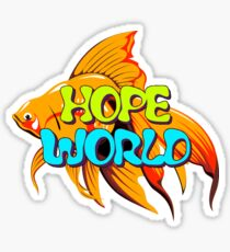 Hope World Stickers
