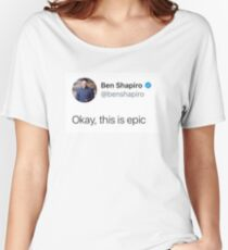 okay, this is EPIC Women's Relaxed Fit T-Shirt
