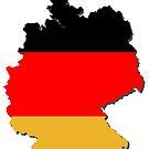 Deutschlandkarte von Stefanie Keller